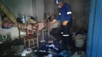 Kırıkhan'da Çöp Ev Boşaltıldı