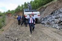 MEHMET NEBI KAYA - Köy Yollarının Tehlikeli Virajları Kaldırılıyor