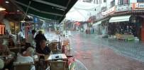 LODOS - Kuşadası Yağmura Teslim Oldu