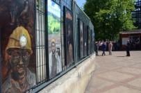 RESSAM - Madenci Resimleriyle Maden Facialarına Dikkat Çekti
