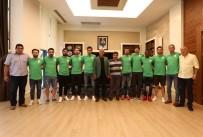 KARAKÖPRÜ - Manavgat Belediyespor Yeni Oyuncularını Tanıttı