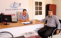 MEHMET CAN - Meclis Başkanı Erdoğan'dan İHA'ya Ziyaret