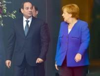 MISIR CUMHURBAŞKANI - Mısır Cumhurbaşkanı Sisi, Almanya'da