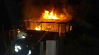 TAŞAĞıL - Seydişehir'de Bağ Evinde Yangın