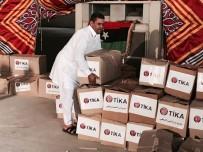 YEŞILDAĞ - TİKA'dan Libyalı Terör Mağduru Göçmen Ailelere Gıda Yardımı