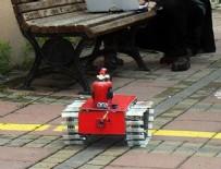 ESKIŞEHIR OSMANGAZI ÜNIVERSITESI - Yangınla mücadele robotu kayıpları asgariye indirecek