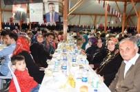 NEVZAT DOĞAN - Yeşilova'da 2 Bin 500 Kişilik İftar Sofrası Kuruldu