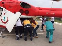 AMBULANS HELİKOPTER - 49 Kişinin Yaralandığı Kazadaki Ağır Yaralı Asker Şehit Oldu
