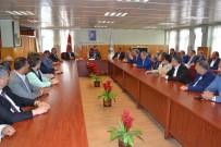 ÖMER ERDOĞAN - 7 Renk Tek Yürek Platformu Üyelerinden Belediyeye Ziyaret