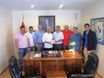 ESNAF ODASı BAŞKANı - AYMESEM'in Avrupalı Çıraklarından ATO Ve Esnaf Odasına Nazik Ziyaret