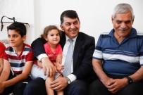 ŞEHITKAMIL BELEDIYESI - Başkan Fadıloğlu, İftar Öncesi Şehit Ailesini Ziyaret Etti