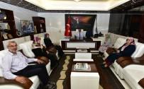 EĞİTİM DERNEĞİ - Başkan Gürkan'dan Bir Damla Yardımlaşma Derneği İle İstişare