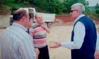 Başkan Musa Yılmaz, Hisarcık'ta Yol Çalışmalarını Yerinde İnceledi