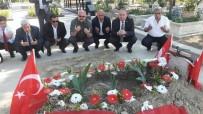 ŞEHADET - Başkan Şahiner Aybüke Öğretmenin Mezarını Ziyaret Etti