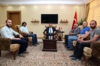 Bayburt Gazeteciler Cemiyeti Yönetimi, Vali İsmail Ustaoğlu'nu Ziyaret Etti