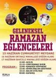 Buharkent'te Ramazan Eğlenceleri Başlıyor