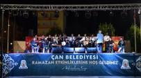 Çan Belediyesi 9'Uncu Ramazan Etkinliklerinde Musiki Ziyafeti