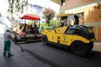 ÇANKAYA BELEDIYESI - Çankaya'da Asfalt Çalışmaları Aralıksız Sürüyor