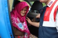 Dağ Çileği Toplamaya Giden Ve Kaybolan 90 Yaşındaki Kadın 48 Saat Sonra Bulundu