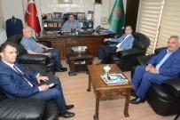 KOÇAK - Defterdar Arslan'dan Başkan Koçak'a Ziyaret