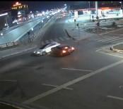 Elazığ'da Trafik Kazaları MOBESE'ye Yansıdı