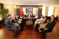 GEBZE BELEDİYESİ - Erzurumlular Derneği'nden Başkan Köşker'e Ziyaret