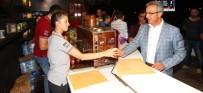 GEBZE BELEDİYESİ - Gebzelilere İftar Sonrası Ramazan İkramları Yapılıyor