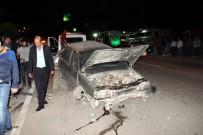 BENZIN - Güvenlik Kamerası Kazayı Aydınlattı