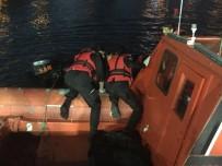 AHıRKAPı - İstanbul'da Denizden Ceset Çıktı