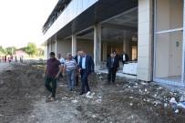 MEHMET KELEŞ - Kapalı Pazaryeri İnşaatı Hızla İlerliyor