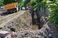 HASAN TAHSIN - Kartepe'de Yağmur Suyu Hattı Çalışmaları