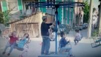 Kütahyalı Çocukların 'Seyyar Lunapark' Keyfi