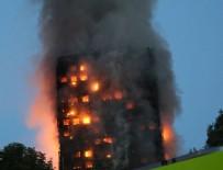 ÇÖKME TEHLİKESİ - Londra'da büyük yangın: Ölü ve yaralılar var