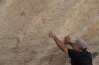 MADEN OCAKLARI - Madran Dağı'nda Prehistorik Kaya Resimleri Bulundu