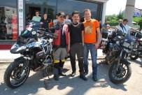 KUZEY İRLANDA - Manisa'da İki Motosiklet Tutkunu Avrupa Turuna Çıktı