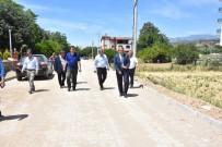 İSABEYLI - Nazilli Belediyesi İsabeyli'deki Bütün Yolları Tamamladı