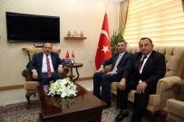 PTT Genel Müdür Yardımcısı Gürbüz Akbulut, Vali İsmail Ustaoğlu'nu Ziyaret Etti