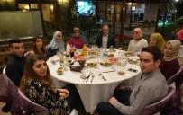 BARTIN ÜNİVERSİTESİ - Rektör Uzun, Şehit Yakınlarıyla İftar Yaptı