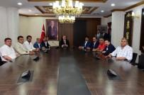 ŞANLıURFASPOR - Şanlıurfaspor Yönetimi Vali Tuna'yı Ziyaret Etti