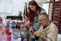 EBRU SANATı - Sincan'da 7'Den 70'E Herkese Kurs Var