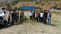 İLHAN CAVCAV - Şırnaklı Öğrenciler Şehit Tümgeneral Aydın'ın Kabrini Ziyaret Etti