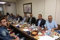 BASıN İLAN KURUMU - Sivas'ta Basın Çalışanları İftarda Bir Araya Geldi