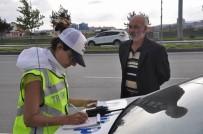 TRAFİK TESCİL - Sivas'ta Emniyet Kemeri Takmayan Sürücülere Ceza Yağdı