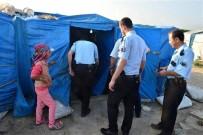 KURUSIKI TABANCA - Türkiye Geneli İnşaat Ve Mevsimlik İşçilere Yönelik Kimlik Uygulaması