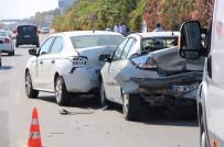 ZİNCİRLEME KAZA - Alanya'da Zincirleme Kaza