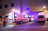 PAMUKKALE ÜNIVERSITESI - Alkollü Sürücü Polise Çarpıp Kaçtı Açıklaması 1 Yaralı