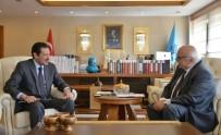 ENFORMASYON BAKANI - Bakan Avcı, Suudi Arabistan Büyükelçisi Elkereiji'yi Kabul Etti