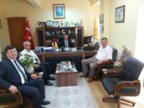 VEZIRHAN - Başkan Duymuş'tan PTT'ye Ziyaret