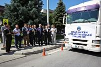 ZEKERIYA GÜNEY - Büyükşehir'den Fırat Kalkanı'nda Terörden Temizlenen Bölgeye İaşe Yardımı