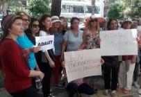 ADANA İL BAŞKANLIĞI - CHP İl Kadın Kolları'ndan Sessiz Eylem